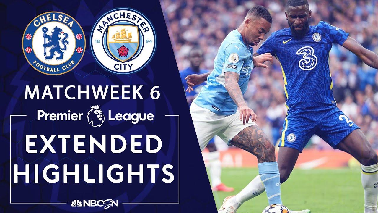 Download Chelsea v. Manchester City | PREMIER LEAGUE HIGHLIGHTS | 9/25/2021 | NBC Sports