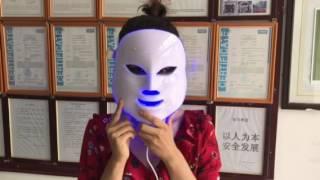 LED mask for skin rejuvenation
