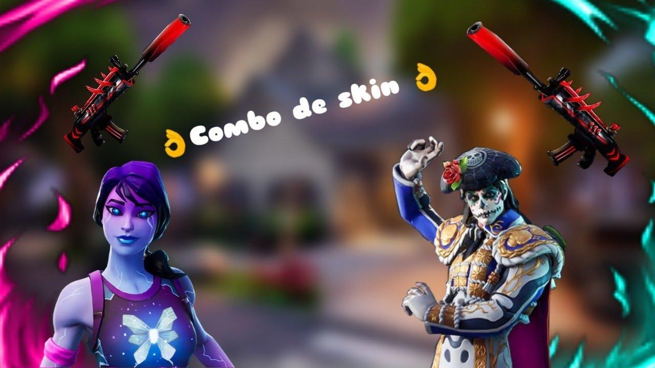 Combo De Skin Fortnite 👌 - YouTube