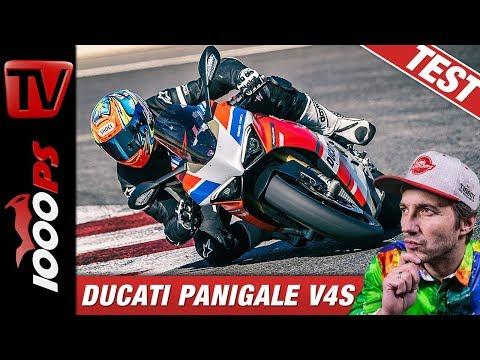 Ducati Panigale V4 S Corse im Vergleichstest auf der Rennstrecke beim Masterbike 2019