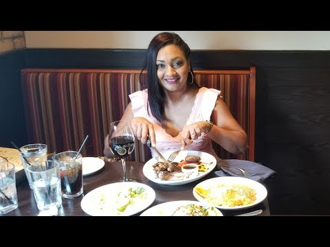 Lunch At Carrabbas Italian Grill