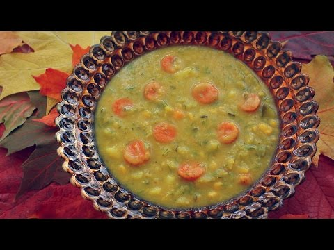 YELLOW PEA WITH DILL SOUP RECIPE!