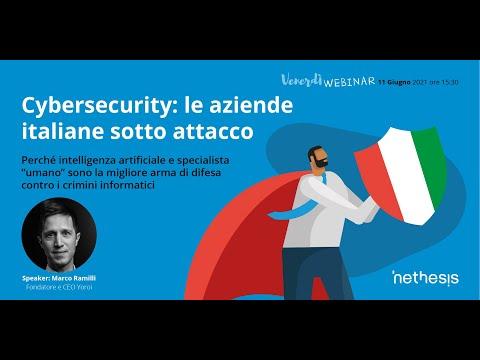 Cybersecurity: le aziende italiane sotto attacco