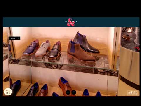 Ted Baker Virtual Shopping