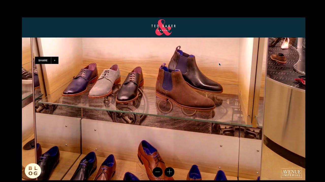 63024d4da9225 Ted Baker Virtual Shopping - YouTube