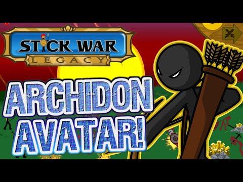 ARCHIDONS, FIRE! - Stick War Legacy (Archidon Avatar) Crown of Inamorta