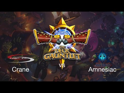 Deck Gauntlet Day 1 Amnesiac vs  Crane