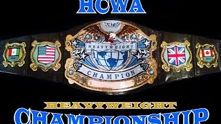 Donovan Vice vs Jonni Roxville | 2015 | HCWA Heavyweight Championship