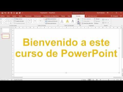 Cómo hacer efectos de texto en PowerPoint