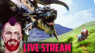 🔴 Monster Hunter: World | FRIDAY NIGHT HUNTS! Getting Gud With The Long Sword - Ps4 Gameplay