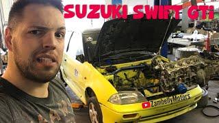 SUZUKI SWIFT GTI MOTORBERAKÁS///#kinta$eggem///FELROBBAN VAGY BÍRJA MAJD?!