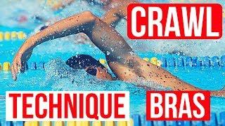 🏊 Technique BRAS CRAWL   Une nage plus EFFICACE 🏊