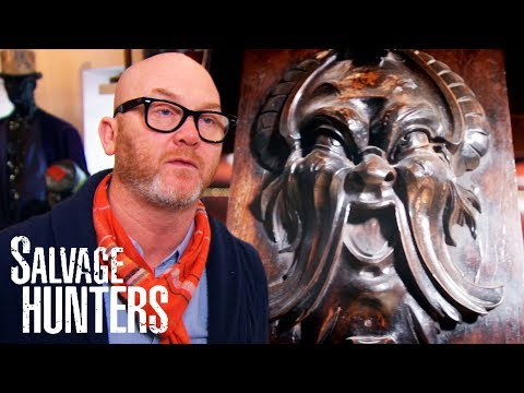 Picking Up An Unusual Collection Of Carved Architectural Fragments | Salvage Hunters