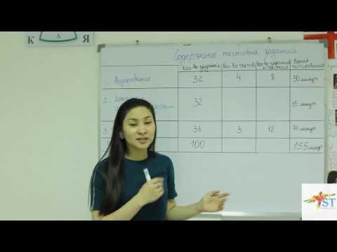 1. Коркем Ыбыраева- Как поступить в магистратуру? Содержание тестовых заданий.