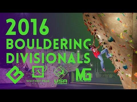 Bouldering Divisionals 2016 - Finals