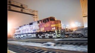 6-2,3-17! 8TH ANNIVERSARY! Railfanning Commerce & Montebello! CSX, GP50 ATSF power and MORE!