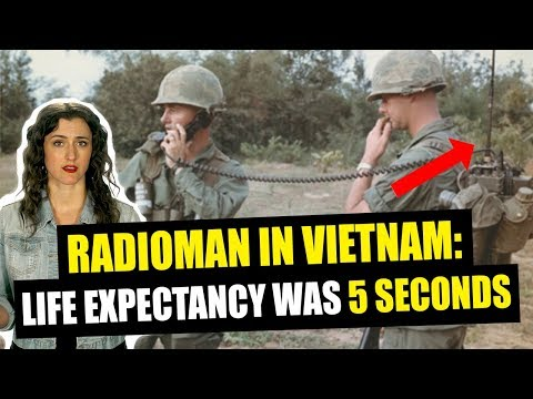Vietnam-era Radiomen life expectancy was 5 seconds