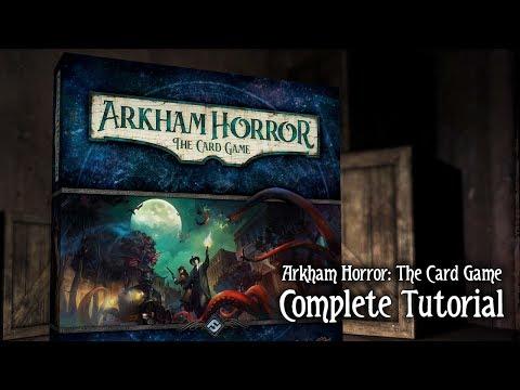 Arkham Horror: The Card Game Tutorial
