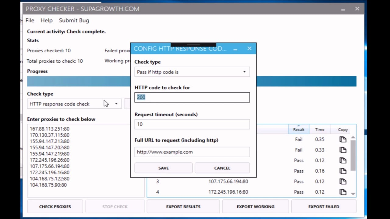 Proxy Checker - Check If Your Proxies Are Working
