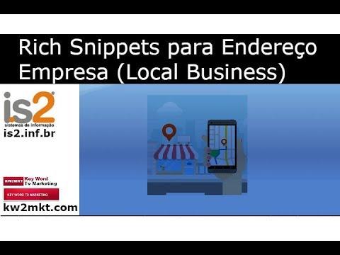 Rich Snippets para Endereço Empresa