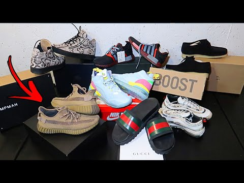 FOUND GUCCI SHOES!! DUMPSTER DIVING SNEAKER STORE!! *JACKPOT* $3000 FIND!!