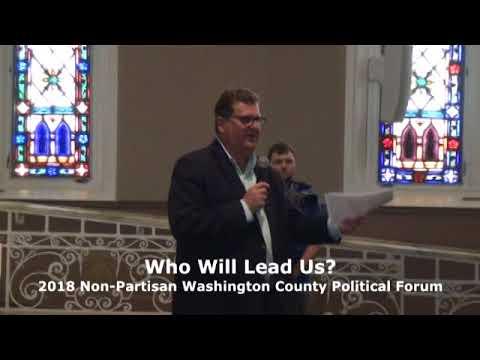 Washington County Political Forum on April 26, 2018 Part One