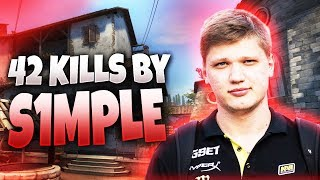 CS:GO - s1mple 42 frags on Inferno @ FPL