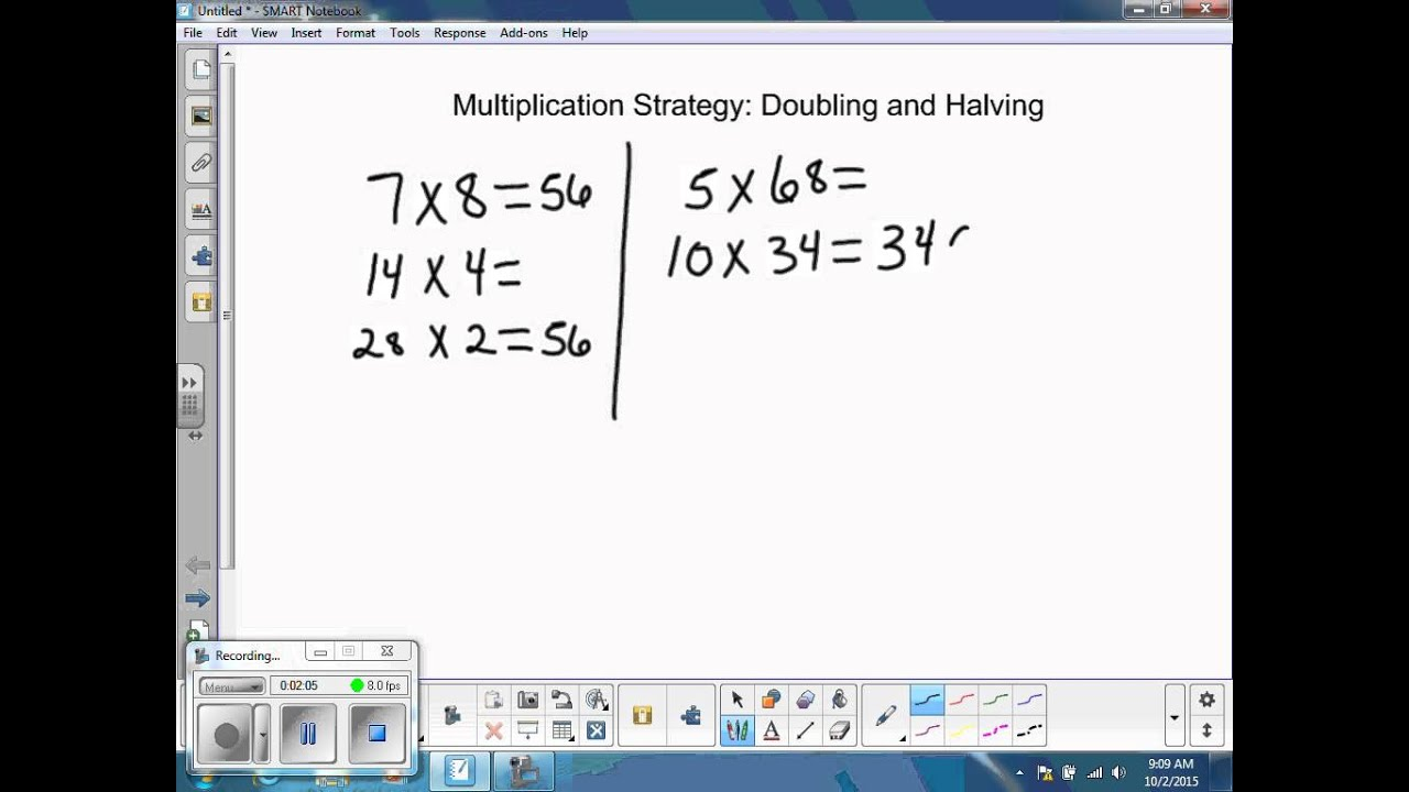 �z�9k���-9��9��y��_Multiplication:DoublingandHalving-YouTube