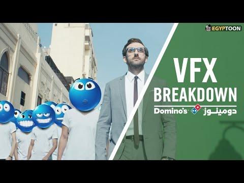 Domino's Pizza Commercial | CGI VFX Breakdown | by Egyptoon 2016