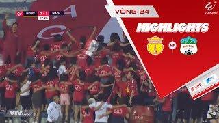 Công Phượng nổ súng, HAGL đánh bại Nam Định ngay tại sân Thiên Trường | VPF Media