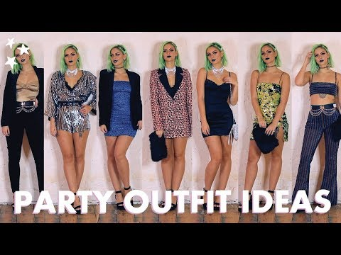 HOLIDAY PARTY OUTFITS ft. Missguided, Boohoo, Motel Rocks