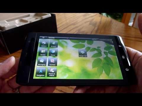 "Dell Streak 5"" widescreen tablet/smartphone on Rogers"