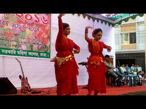 Sundori_komola_nache || by mila ( dancing choreography by two university  student)