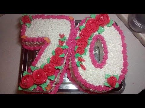 кремовый торт30, торт-цифра пошагово