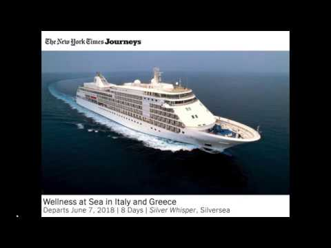 Wellness at Sea in Italy and Greece
