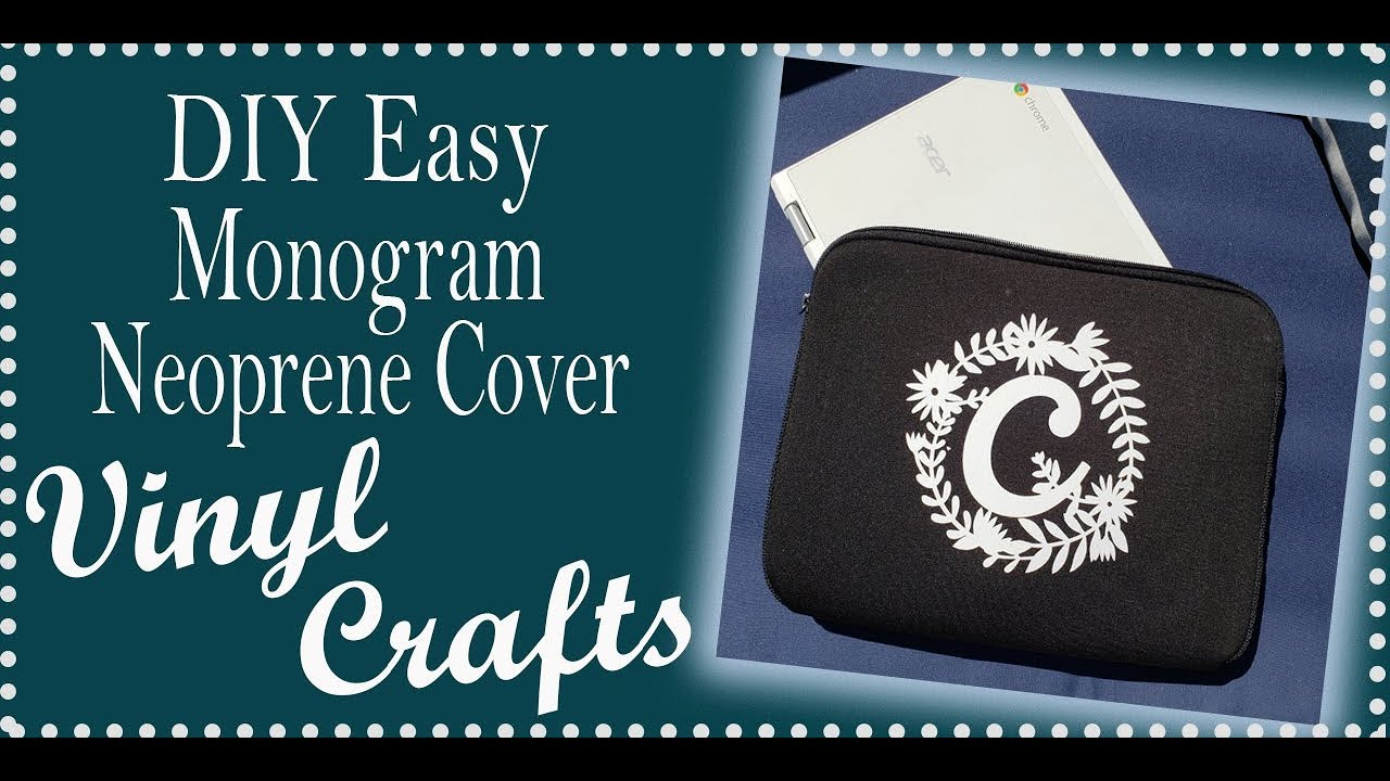 Easy Beginner Cricut Projects Using Your Cutting Machine Simple Layer on  Neoprene