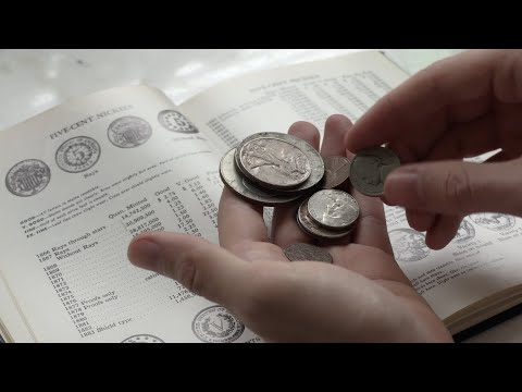 ASMR Reading The 1968 Handbook Of United States Coins Blue Book Silver Anniversary Edition