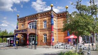 Hundertwasserbahnhof Uelzen in Niedersachsen eine Touristenattraktion !!