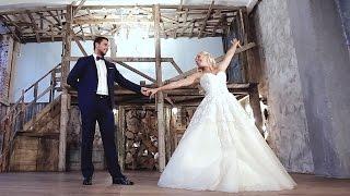 Очень красивый свадебный танец с поддержками !!!
