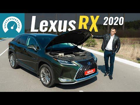 Lexus RX 4-е поколение (рестайлинг) Кроссовер