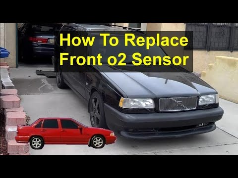 How to replace the front o2 sensor in a Volvo 850, S70, V70, etc., error code P0133 – REMIX
