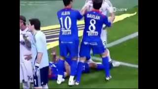Pepe goes crazy! Animal red card - Real Madrid vs Getafe (21 04 2009)