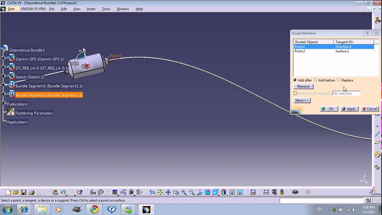 maxresdefault catia v5 training part 8 youtube wire harness design in catia v5 at bakdesigns.co