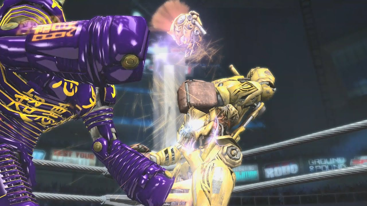 REAL STEEL THE VIDEO GAME - NOISY BOY vs MIDAS (XBOX360/PS3)
