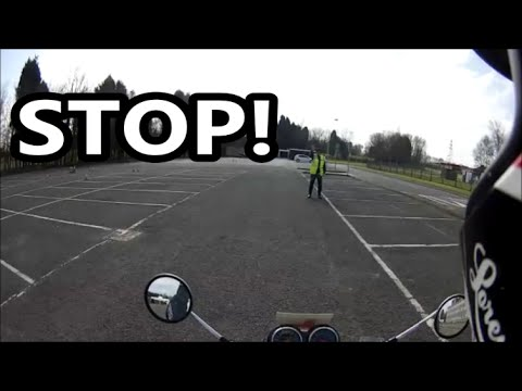 Motorcycle Lessons - Emergency Braking