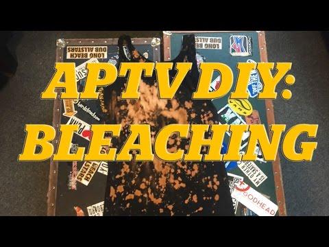 APTV DIY: Bleach Soaking/Splatter