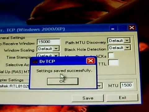Download Speed Slower Than Paying For?: Windows XP Internet Explorer Easy Tweak W\email Support