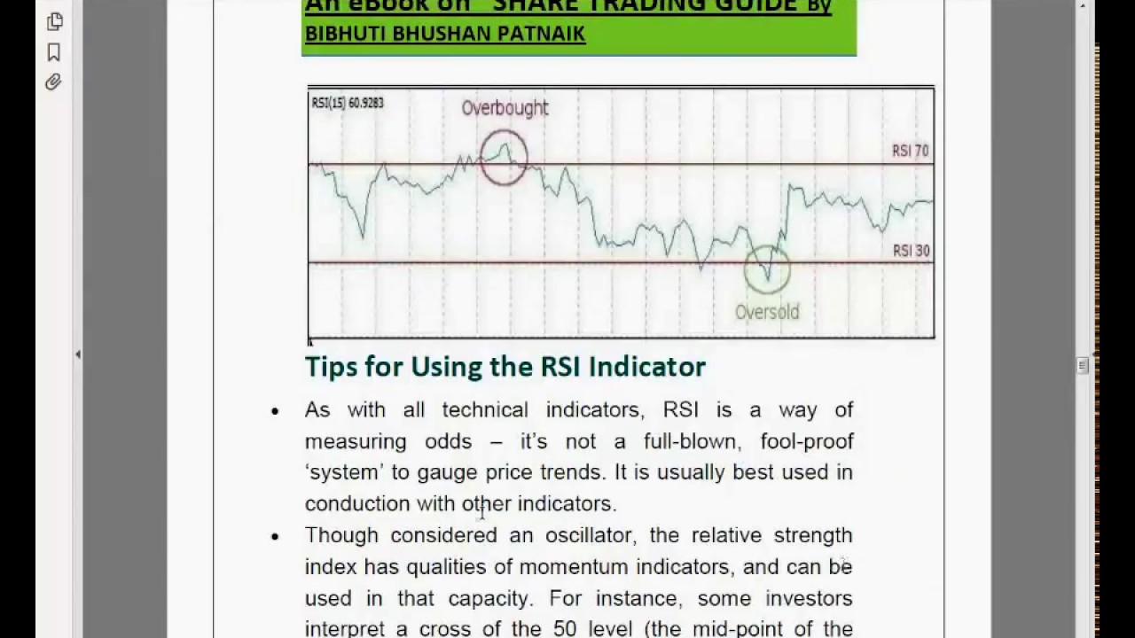 RSI A PERFECT INDICATOR TO GET BUY AND SELL SIGNAL