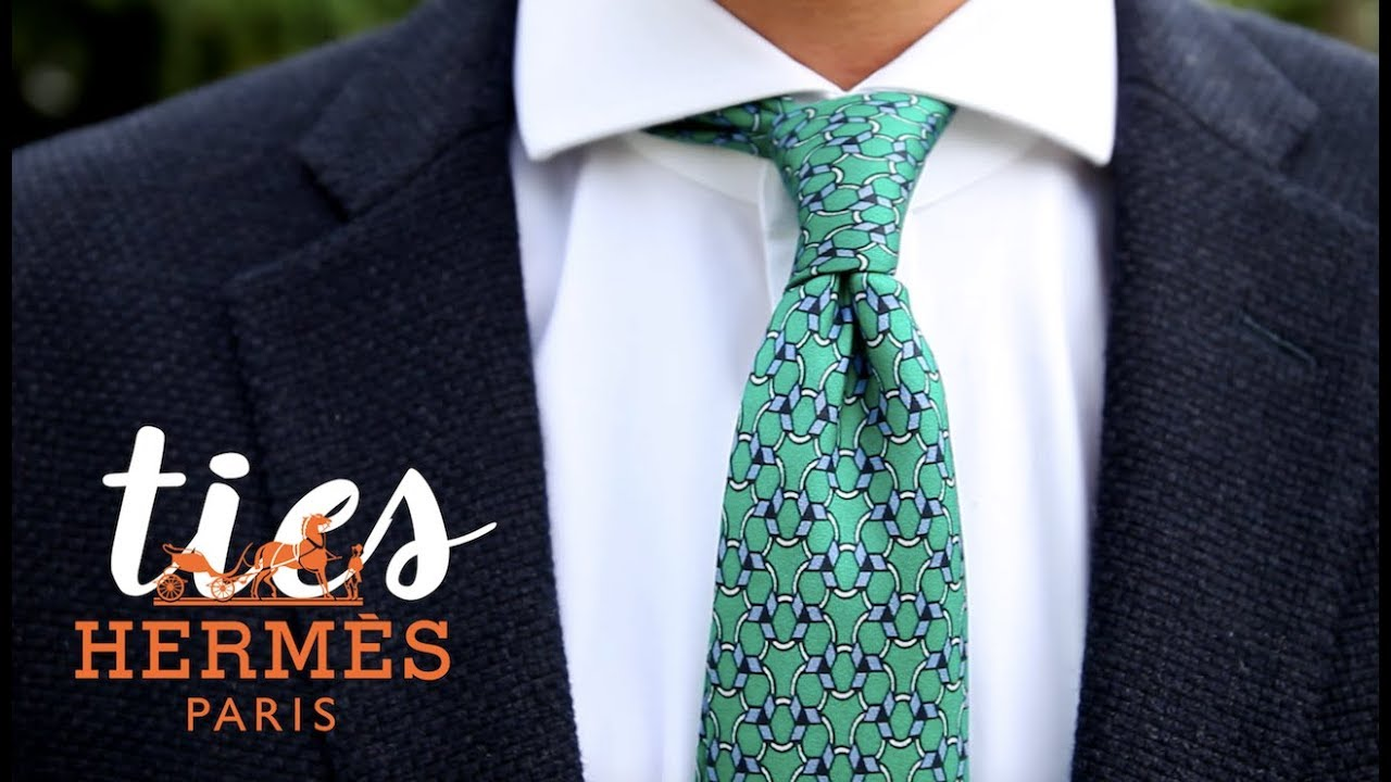 cdb5692d24a7 Hermes Tie - Is It Worth $180? // OFF TOPIC - YouTube