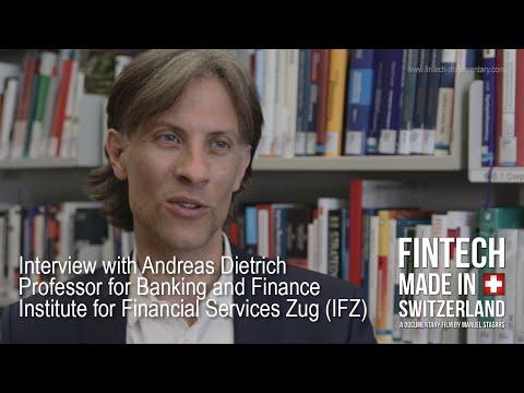 """""""FinTech Made in Switzerland"""": Interview Andreas Dietrich, HSLU/IFZ"""
